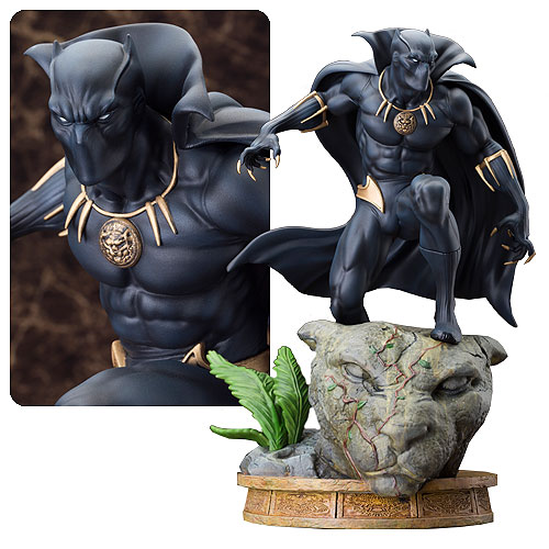 Marvel Black Panther Fine Art Statue