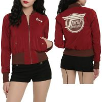 Marvel By Her Universe Stark Industries Girls Bomber Jacket