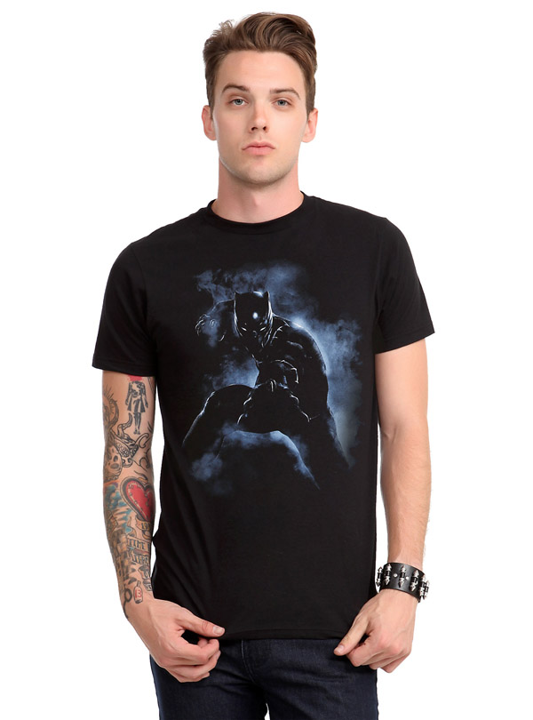 Marvel Captain America Civil War Black Panther T-Shirt