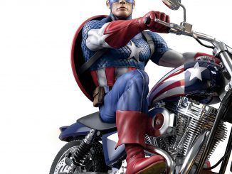 Marvel Captain America Masterpiece Sculpture