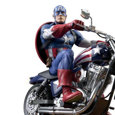 Marvel Captain America Masterpiece Sculpture