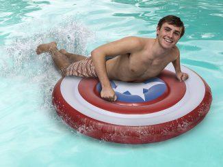 Marvel Captain America Shield Pool Float