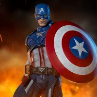 Marvel Captain America Shield Premium Format Figure