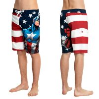 Marvel Captain America Swim Trunks