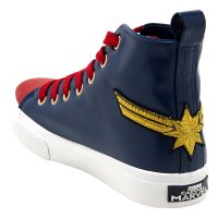 Marvel Captain Marvel Hi-Top Shoe