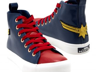 Marvel Captain Marvel Hi-Top Sneakers