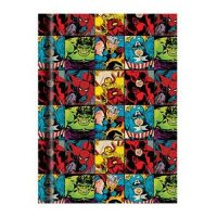 Marvel Characters Grid Hardcover Journal