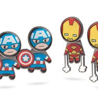 Marvel Civil War Kawaii Earring Set - Limited Edition
