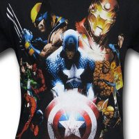 Marvel Civil War by Michael Turner Shirt