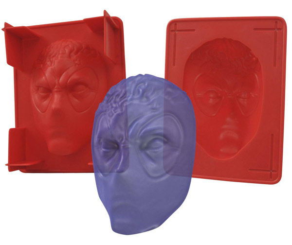Marvel Deadpool Gelatin Mold