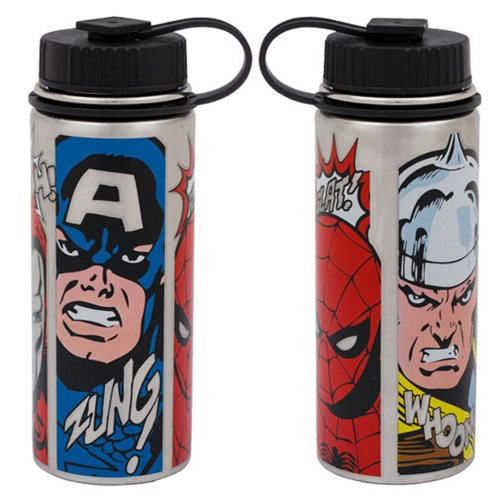 Marvel Comics 18 oz. Vacuum Insulated Stainless Steel Water Bottle