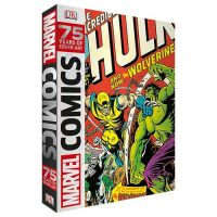 Marvel Comics 75 Years of Cover Art Hardcover Book