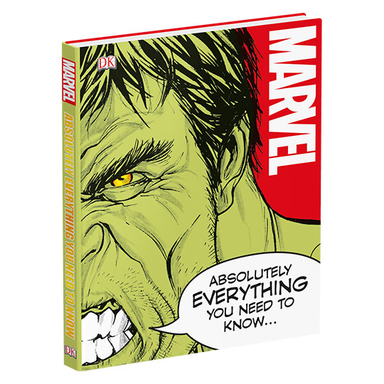 Marvel Comics Absolutely Everything You Need to Know Hardcover Book