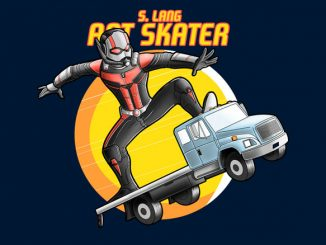 Marvel Comics Ant Man Skater Tee