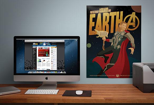 Marvel Comics Avengers Propaganda Posters