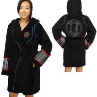 Marvel Comics Black Widow Ladies' Fleece Robe
