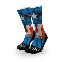 Marvel Comics Captain America Socks