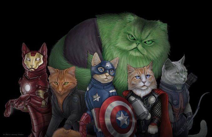 Marvel Comics Catvengers Jenny Parks
