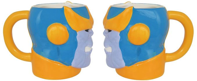 Marvel Comics Ceramic Thanos Sculpted Mug