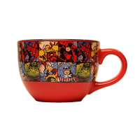 Marvel Comics Character Grid 24 oz. Ceramic Soup Mug