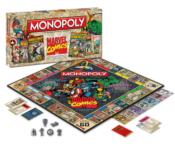 Marvel Comics Collector Edition Monopoly
