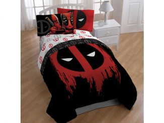 Marvel Comics Deadpool Bedroom Set