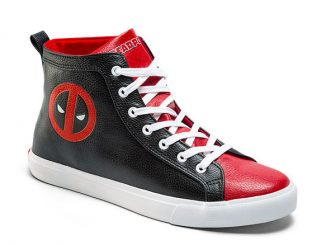 Marvel Comics Deadpool High Top Sneaker
