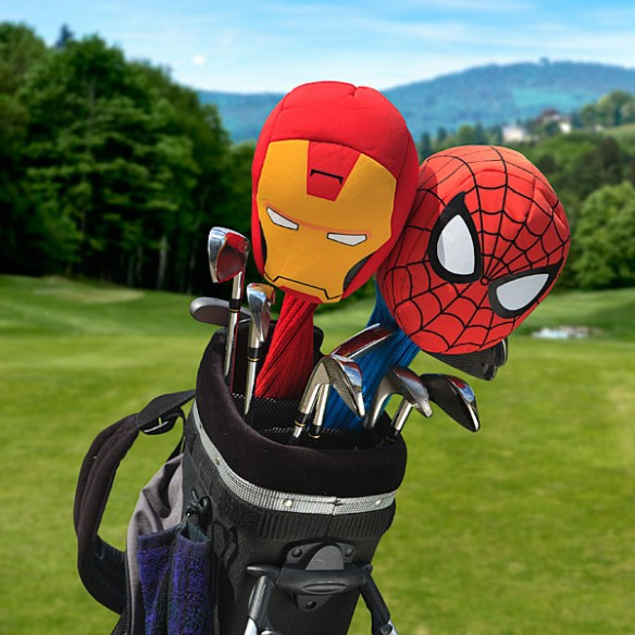Marvel Comics Golf Club Covers