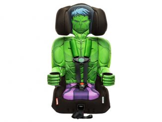 Marvel Comics Hulk Combination Booster Car Seat