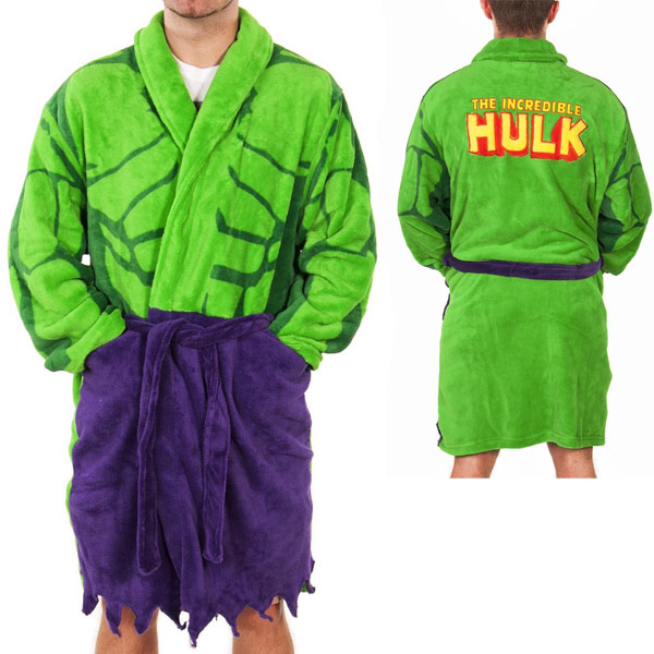 Marvel Comics Incredible Hulk Robe