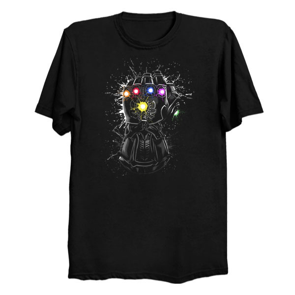 Marvel Comics Infinity Gauntlet Shirt