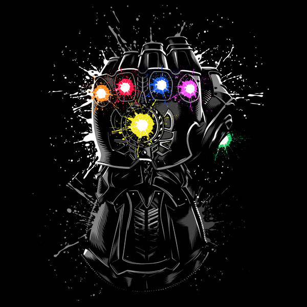 Marvel Comics Infinity Gauntlet T-Shirt