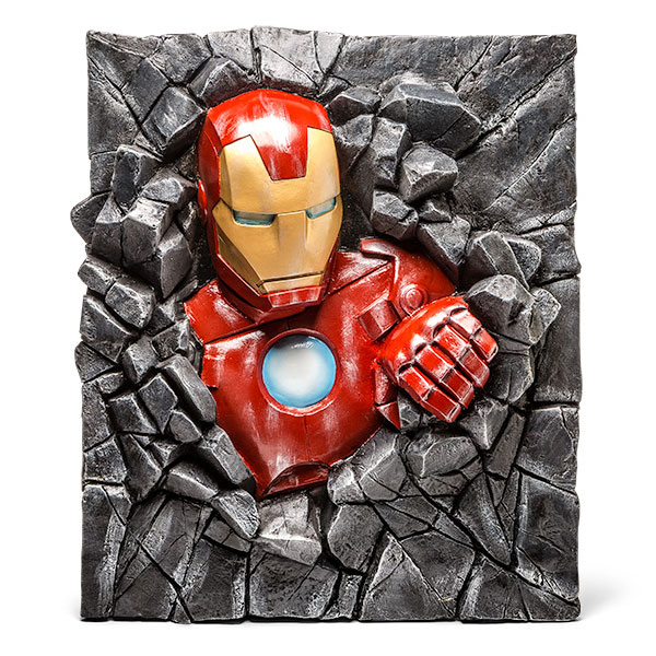 Marvel Comics Iron Man Wallbreaker Art Work
