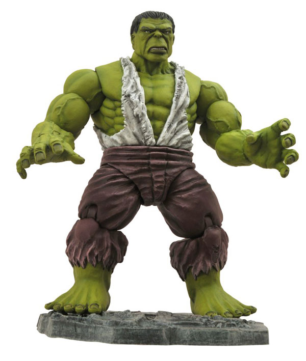 Marvel Comics Marvel Select Savage Hulk Action Figure