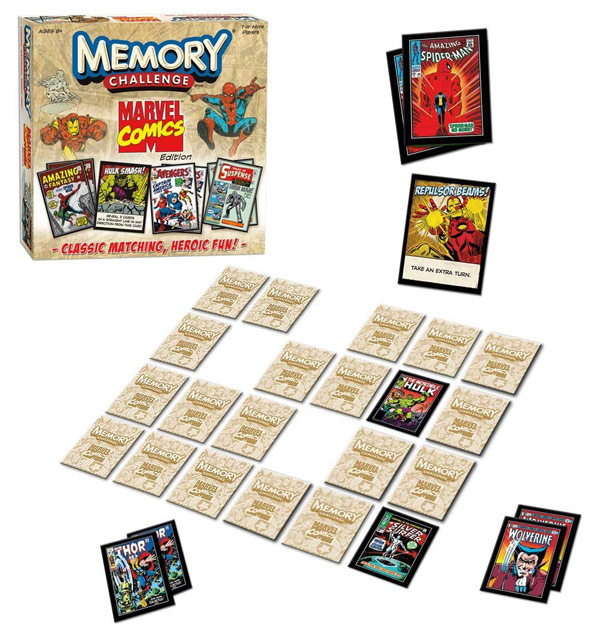 Marvel Comics Edition Memory Challenge Game