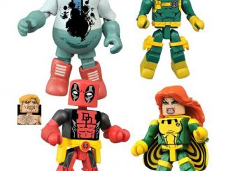 Marvel Comics Minimates Series 65 Deadpool Set