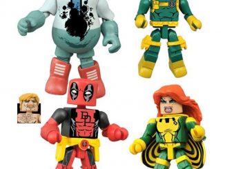 Marvel Comics Minimates Series 65 Deadpool Set