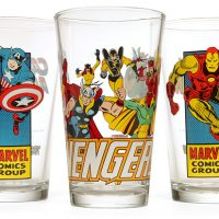 Marvel Comics Pint Glasses