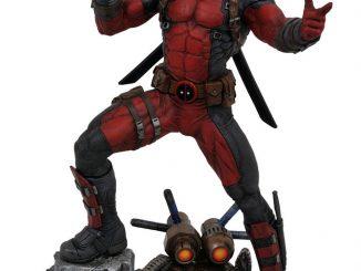 Marvel Comics Premier Collection Deadpool Statue