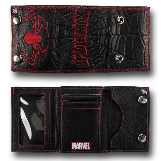 Marvel  Comics Spider-man Wallet