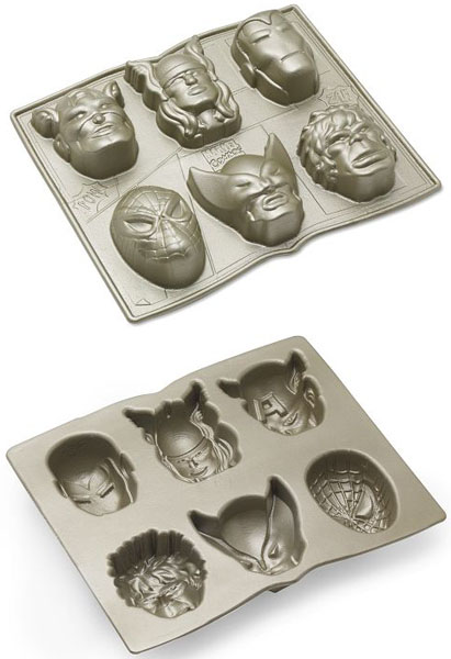 Marvel Comics Superhero Cake Pans