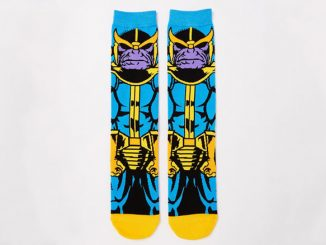 Marvel Comics Thanos Crew Socks