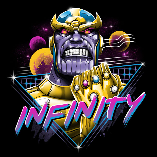 Marvel Comics Thanos Infinity Tee