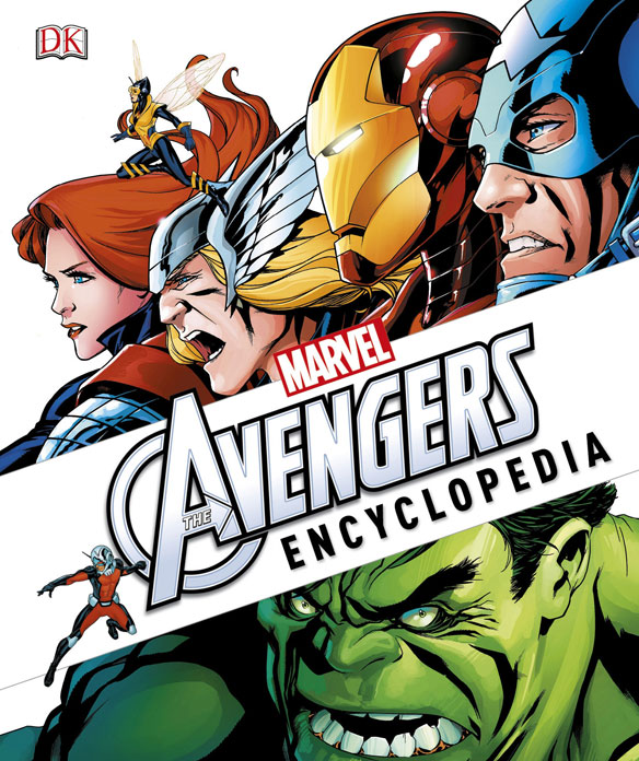 Marvel Comics The Avengers Encyclopedia Hardcover Book