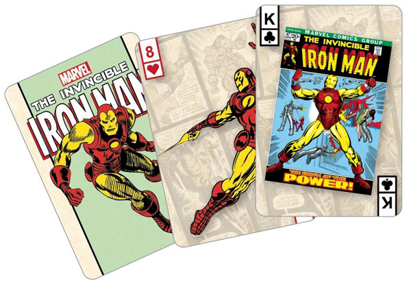 Marvel Comics The Invincible Iron Man Playing Cards