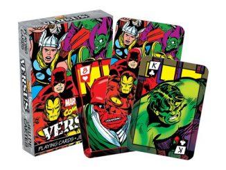 Marvel Comics Versus Playing Cards