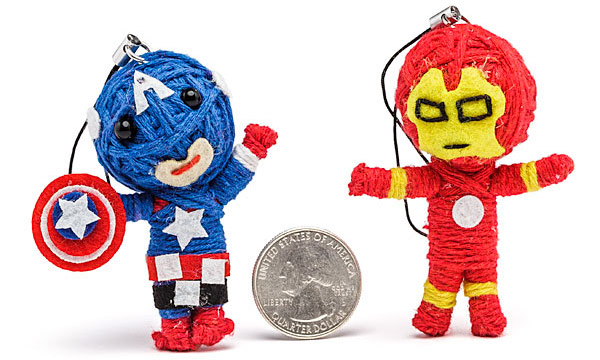 Marvel Comics Voodoo Doll Keychains