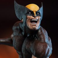 Marvel Comics Wolverine Brown Costume Premium Format Figure