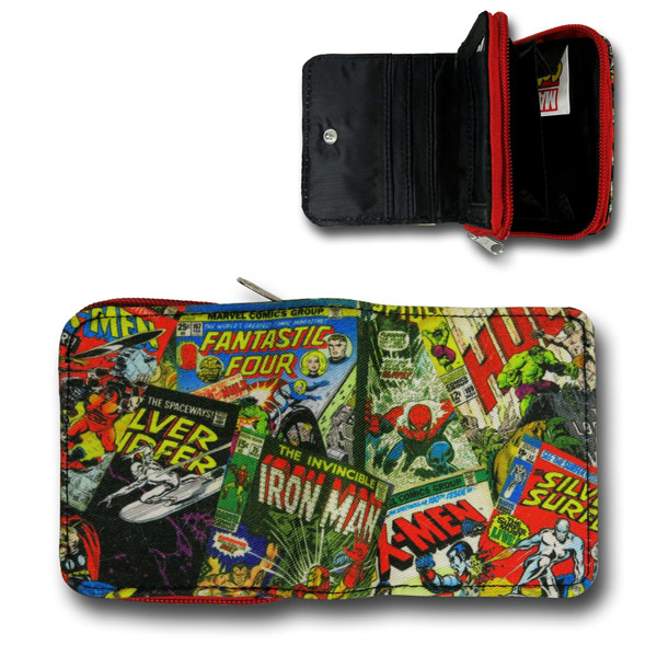 Marvel Comics Zip Wallet