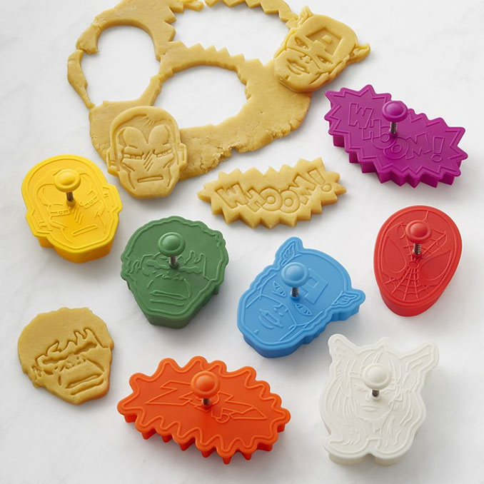Marvel Cookie Cutters